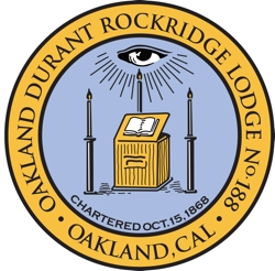 Oakland Durant Rockridge Masonic Lodge 188
